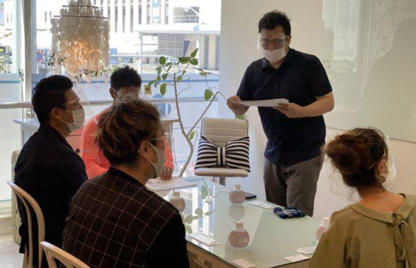 ナノゾーンコート施工講習会