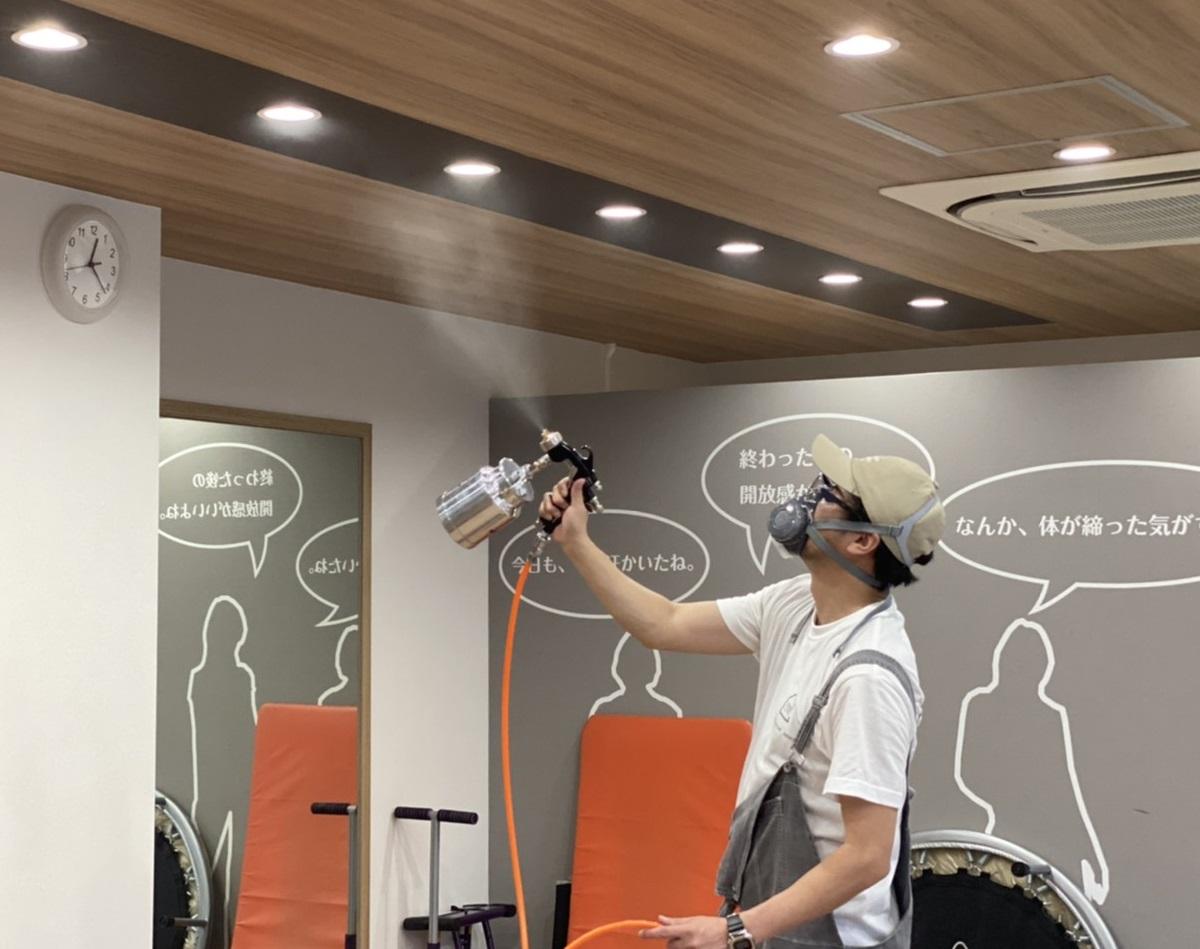 香川県でナノゾーンコート施工